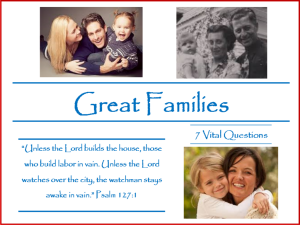 Great Families